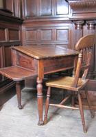 Antique pine school desk (5 of 5)