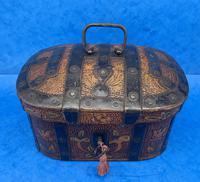 19th Century Arts And Crafts Scandinavian Birch Box (2 of 12)