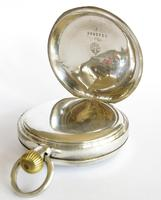 Antique Silver Omega Pocket Watch for Sanders & Co (3 of 6)