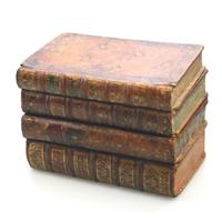 Scarce Novelty Drinking Set Contained in Secret Stack of Books c.1890 (2 of 15)