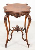 Pretty French Walnut Occasional Table (4 of 10)
