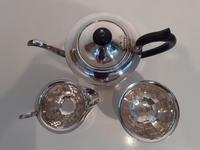 Silver Plated Sheffield Tea Set (3 of 3)