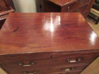 Small George III Period Military Secretaire Chest (6 of 9)