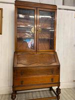 Large Art Deco Bureau Bookcase (4 of 6)