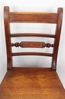 Set of 4 Victorian Mahogany Kitchen Chairs (13 of 13)