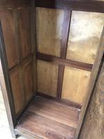 Early 20th Century Antique Oak Linenfold Hall Cupboard (10 of 13)