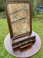 18th Century Cuban Mahogany Dressing Table Mirror (7 of 7)