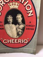 Pub Advertising Brewery Duckworth Showcard Coronation Cheerio Champagne (4 of 6)