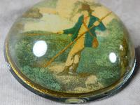19th Century Convex Paperweight (2 of 5)