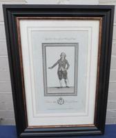 1789 Fine Engraving Louis XVI King of France
