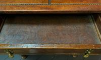 Outstanding William & Mary Style Leather & Stud Bound Country Oak Lowboy Table (16 of 18)