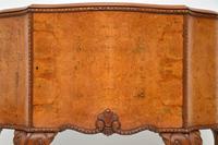 Antique Queen Anne Style Burr Walnut Cabinet (5 of 8)