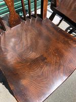 Harlequin Set 10 Ash & Elm Kitchen Chairs (3 of 10)