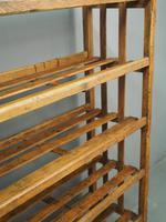 Victorian Industrial Pine Deed Rack / Wool Rack (2 of 10)