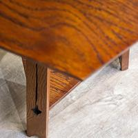 Arts & Crafts Tripod Table (3 of 7)