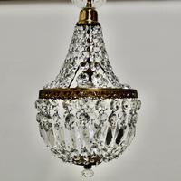 French Empire Style Tent Chandelier (7 of 7)