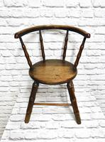 Child's Windsor Armchair with Faux Bamboo Turning (2 of 8)