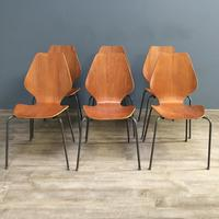 Teak 'City Chairs' by Øyvind Iversen