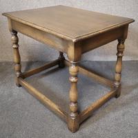 Ipswich Oak Rectangular Shaped Coffee Table (9 of 9)