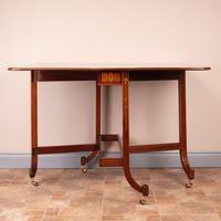 Inlaid Mahogany Edwardian Sutherland Table (15 of 19)