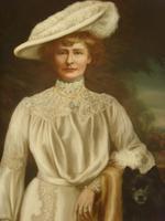 Oil Portrait Lady Dunbar Of Mochrum by John Horsburgh 1835-1924 Large Paintings (4 of 12)