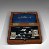 Antique Trammel Point Set, Draughtsman's Instruments, Stanley, Victorian, C.1900 (4 of 9)