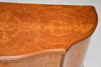 Antique Queen Anne Style Burr  Walnut Cabinet c.1920 (5 of 8)