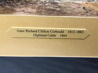 Victorian Scottish Highland Painting of Cattle by Aster Richard Chilton Corbould (19 of 40)