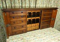 Set of Mahogany Drawers - 10 Large, 6 Small, 6 Small Trays (4 of 10)