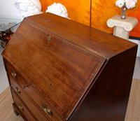 Georgian Bureau Mahogany 18th Century Writing Desk Chest (7 of 12)
