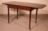 Early 19th Century Writing Desk in Mahogany with Flaps (9 of 13)