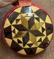 Beautiful Victorian Tunbridge Ware Pin Wheel (5 of 5)