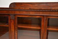 Antique George IV Mahogany Dwarf Bookcase (7 of 11)