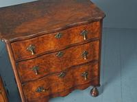Antique Matched Pair of Walnut Chest of Drawers (13 of 20)