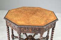 Victorian Octagonal Centre Table (12 of 12)