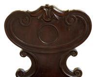 Pair of Regency Mahogany Hall Chairs (5 of 5)
