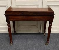 Victorian 2 Drawer Writing Table or Desk (6 of 16)