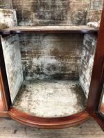 Antique Glazed Display Cabinet (5 of 14)