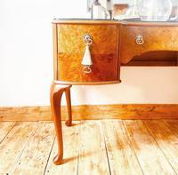 Burr Walnut Dressing Table / Vanity / Sideboard (6 of 6)