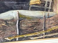 "Watercolour ""Tending The Sheep"" By Bertha Rhodes RA Rca Exh 1905 -1912 (32 of 41)"