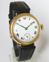 Antique 9ct Gold Wrist Watch, 1924 (2 of 5)