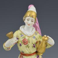 Pair of Samson Porcelain Figures of Ottomans / Turks after Meissen (7 of 13)