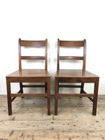 Pair of Antique Welsh Oak Farmhouse Chairs (7 of 17)