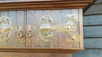 Quality Solid Oak Shapland Petter Arts & Crafts Hall Robe (7 of 10)