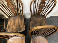 Harlequin Set of 8 18th Century Windsor Dining Chairs (7 of 15)