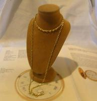 Edwardian Ladies Pocket Watch Guard Chain Antique 10 Gold Filled (5 of 10)