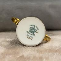 Miniature Coalport Hand Painted & Guilded Loving Cup (5 of 6)