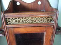 Early 20th Century Small Smoker's Cabinet (4 of 6)