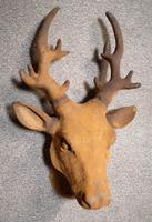 Cast Iron Stags Head, Cast Iron Garden Ornament (2 of 7)