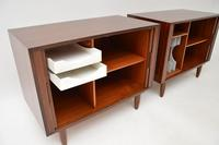 Pair of Danish Vintage Rosewood Cabinets by Kai Kristiansen (3 of 12)